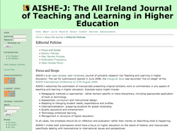 AISHE Journal Image